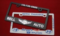 Plastic-License-Plate-Frames
